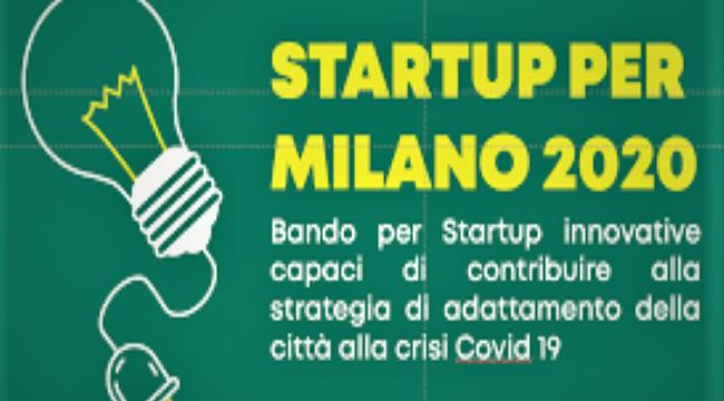Startup per Milano 2020